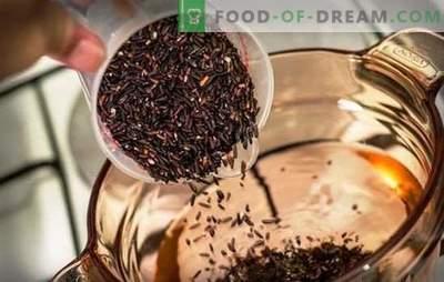 Hoe bruine rijst koken - kwesties van gezonde voeding. Hoeveel bruin rijst koken: culinaire tips over het koken van ongepolijste rijst