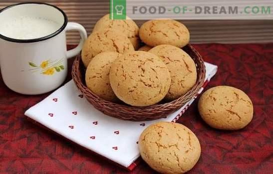 Havermoutkoekjes zonder vlokken - de lekkerste recepten. Handig en smakelijk gebak: havermoutkoekjes zonder ontbijtgranen