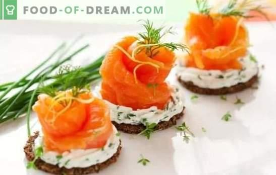 Recepten voor heerlijke koude hapjes van eenvoudig voedsel. Van haring of lever: heerlijke koude snacks tot elke tafel