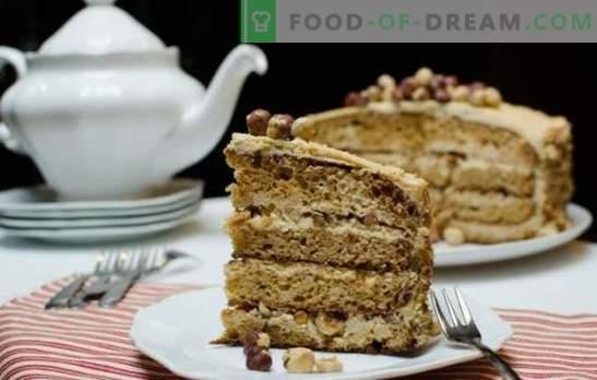 Golden Key-cake - een delicate romige smaak! Thuis een cake