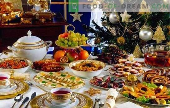 Hoe de feesttafel snel te leggen. Opties voor snacks die in minuten worden klaargemaakt (foto)