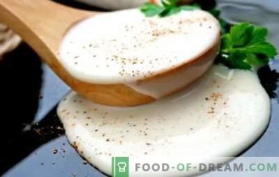 Bechamelsaus (stap voor stap recept): voor groenten, pasta, vis, lasagne. Bechamel Sauce: een stapsgewijs recept voor een goede voorbereiding
