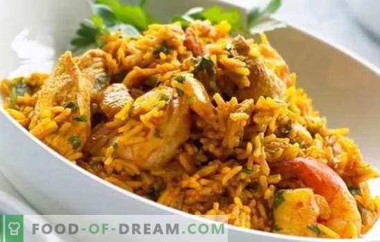 Chicken Pilaf: een stapsgewijs recept voor een populaire Oezbeekse schotel. Recepten pilaf met kip, groenten en gedroogde vruchten