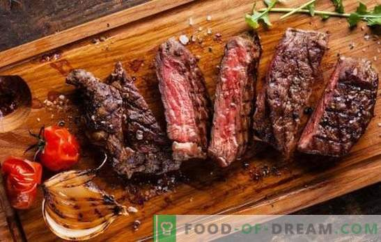 Fouten bij het bereiden van vlees. Waarom het droog en hard bleek te zijn, stinkt slecht of bitter: hoe het te repareren?