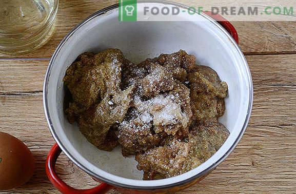 Kaviaar frituren met een ei in een pan: een fotorecept van een stapsgewijze auteur. Wat te doen met kaviaar gevangen riviervis? Brand!