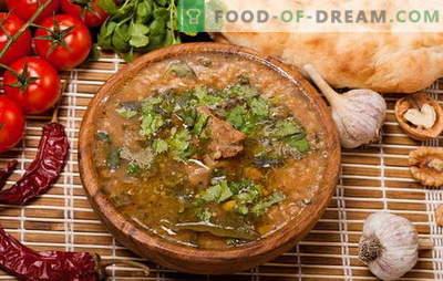 Kharcho kodus - mitte ainult grusiinid kokk! Retseptid omatehtud kharchole kana, sealiha, lambaliha