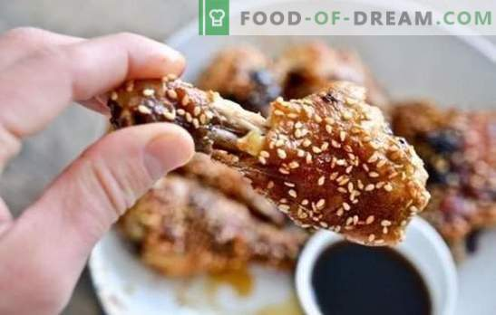Gemberkip: eenvoudige recepten voor voedzame maaltijden. Hoe kip koken met gember, honing, sojasaus, sinaasappels?