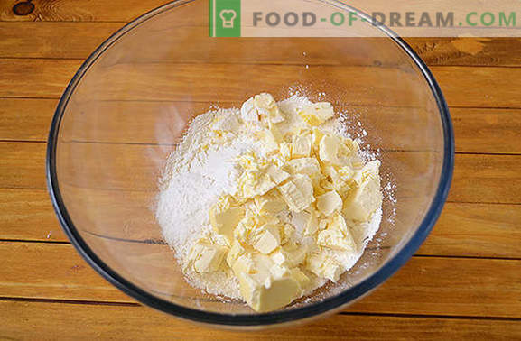 Kwarktaarten met jam: zelfgemaakt gebak is altijd blij! Het stapsgewijze fotorecept van de auteur van kwarkdeegbroodjes met dikke jam