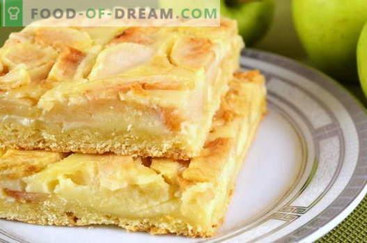 Apple Pie - de beste recepten. Hoe goed en smakelijk om appeltaart te koken.