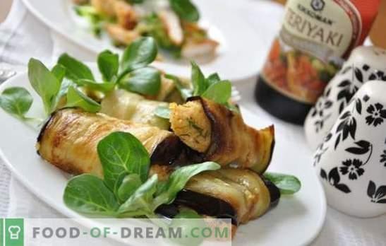 Aubergine borst - plezier in elke hap! Recepten borst met aubergine op het fornuis, in de oven, in de slow cooker