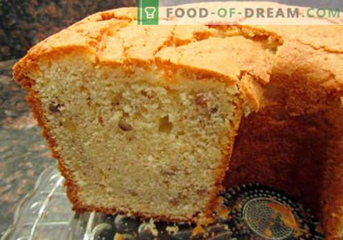 Eenvoudige cupcake - de beste recepten. Hoe maak je snel en lekker een eenvoudige cupcake.