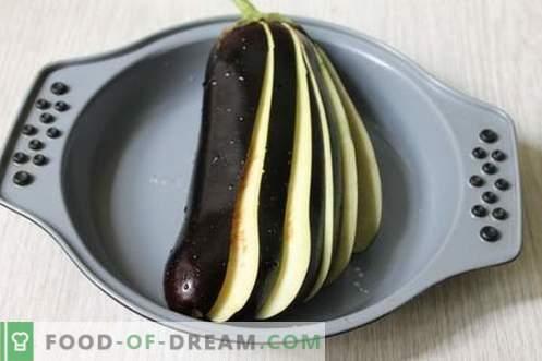 Aubergine snackventilator - smakelijk, bevredigend en sappig!