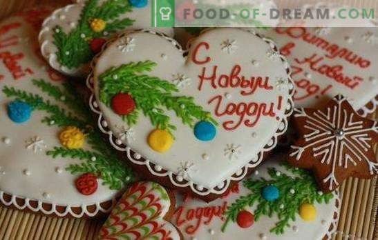 Kerstpeperkoek - decoratie, souvenir en gewoon lekker! Traditionele en mooie recepten voor kerstkoekjes
