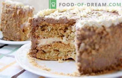 Kiev cake thuis - toegestane luxe! Vereenvoudigde recepten van verschillende zelfgemaakte Kiev-cakes