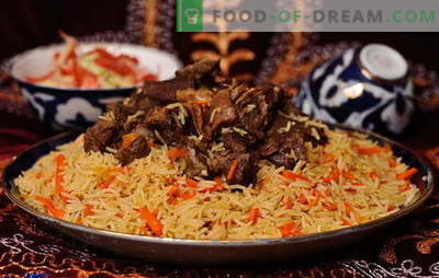 Real Uzbek plov - recipes and cooking secrets. How to make Uzbek pilaf of lamb, chicken, with dried fruits