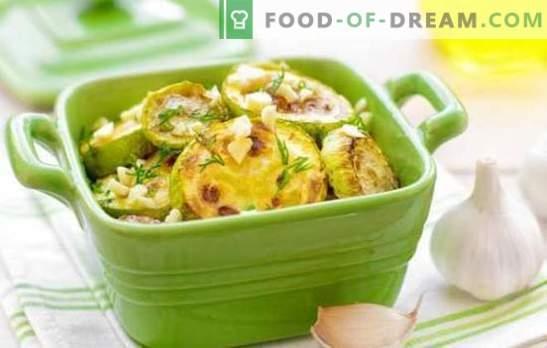 Courgette met uien - een gelukkig toeval! De beste recepten van courgette met uien, wortelen, tomaten en andere groenten