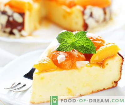 Cheesecake braadpan - de beste recepten. Hoe goed en smakelijk koken kwark braadpan.
