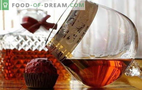 Cognac van maneschijn thuis - de Fransen bijten op hun ellebogen! Beschikbare cognacrecepten van maneschijn thuis