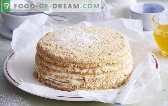 Honingtaart: een stapsgewijs recept voor uw favoriete dessert! Heerlijke honingkoekjes bereiden met bewezen stap-voor-stap recepten