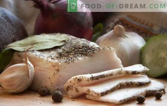 Reuzel met knoflook is een democratisch gerecht voor elke smaak. Een verzameling recepten van bacon met gourmet voor fijnproevers