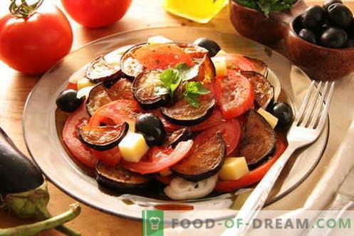Aubergine met tomaten - de beste recepten. Hoe goed en smakelijk aubergines met tomaten koken.