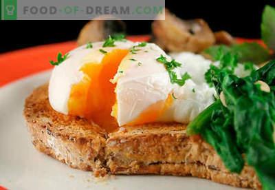 Eiersandwiches zijn de beste recepten. Hoe snel en lekker broodjes koken met eieren.