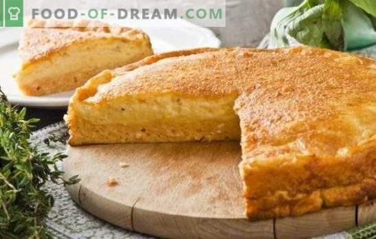 Mayonaise en zure taarten - voorzichtig! Bulk en gesloten taarten koken met mayonaise en zure room met verschillende vullingen