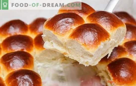 vanillebroodjes - het aroma van zelfgemaakt bakken. Recepten voor vanillebroodjes gemaakt van gist en kwarkdeeg: volgens GOST en huisstijl