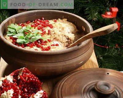 Satsivi - de beste recepten. Hoe goed en smakelijk koken satsivi.