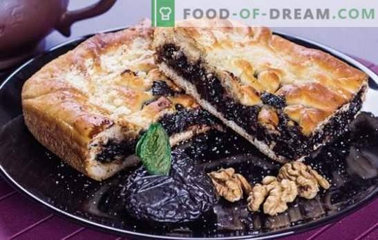 Taartzoetheid is een zelfgemaakte taart met pruimen. De beste recepten voor eenvoudige en ongewone taarten met pruimen: zoet en vlees
