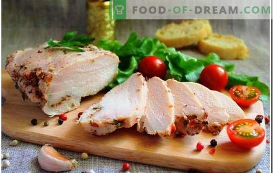 Kipfilet is een uniek ingrediënt voor elke maaltijd. Hoe kipfilet te koken: hoeveel tijd het is om te koken tot gekookt