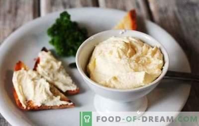 Philadelphia-kaas thuis: het recept voor een populair product. Opties om Philadelphia kaas thuis te maken