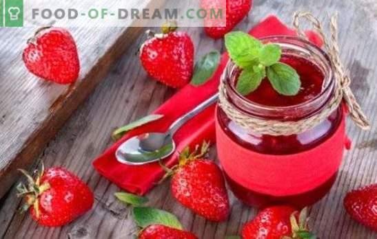 Aardbeienjam in een slowcooker - een geweldig dessert voor thee. Heerlijke aardbeienjam in een slowcooker - genoeg verlangen en een paar ideeën