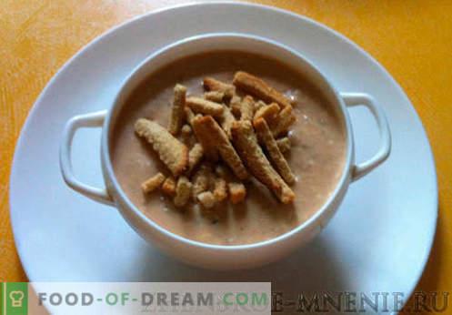 Cream Soup - Recept met foto's en stapsgewijze beschrijving
