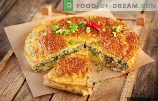 Taart met ingeblikte vis - in een haast. Varianten van geleipaste taarten met ingeblikte vis op kefir, mayonaise, zure room