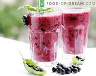 Blackcurrant-smoothie