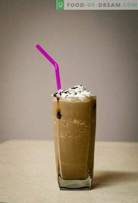 Frappe de café