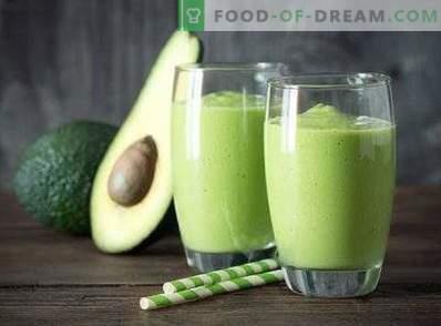 Avocado-smoothies