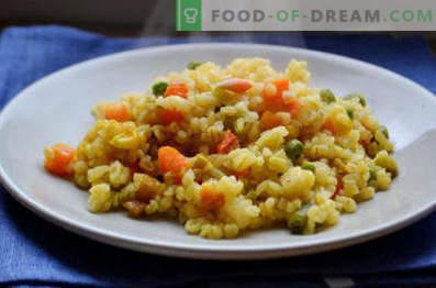 Bulgur with vegetables