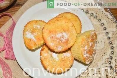 Cupcakes met appels en kaneel