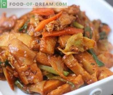 Koreaanse kip hee