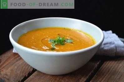 Kikkererwtenpuree soep