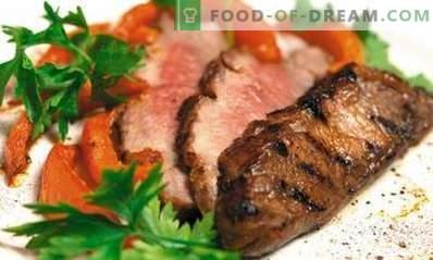 Kalfsvlees gebakken in de oven