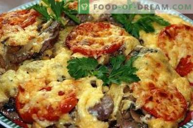 Frans vlees met champignons