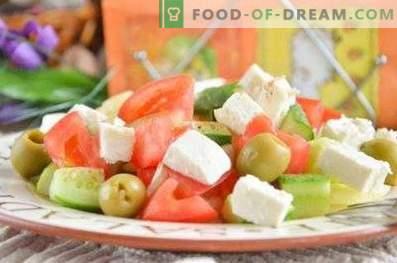Hoe maak je een Griekse salade