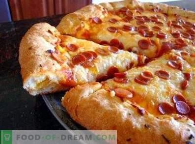 Prachtig pizzadeeg