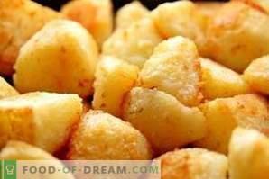 Wat te doen als de aardappelen te zout zijn